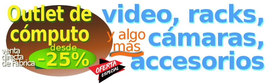 plaza america outlet en computacion, video vigilancia, gamers, telefonia y mas